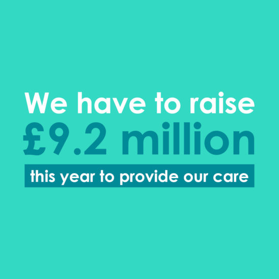 The Myton Hospices - Fundraising Target - Services - Warwickshire - Coventry