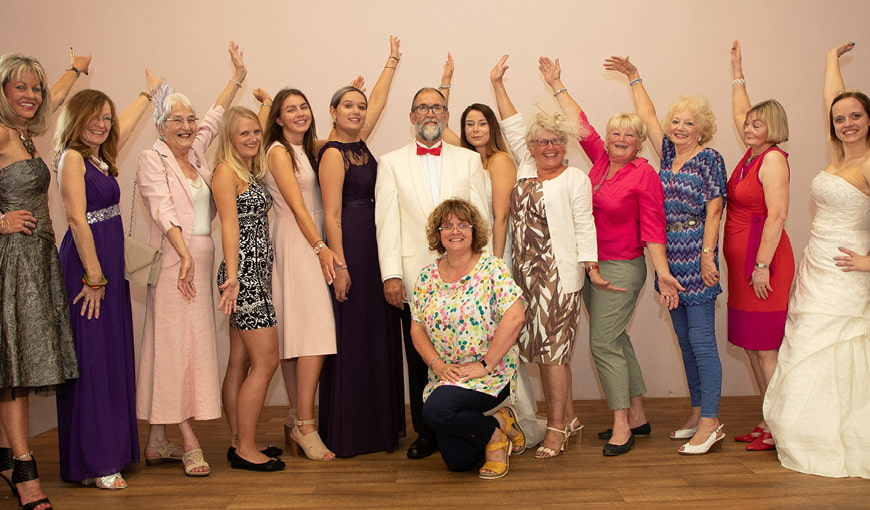 Fashion Show - Wellesbourne Shop - The Myton Hospices - Warwickshire - Coventry - Rugby - Leamington Spa