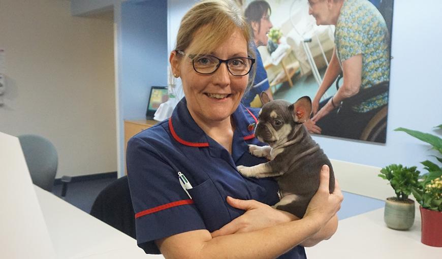 The Myton Hospices - Sharon - Deputy Sisters - Warwick Myton Hospice - Dog