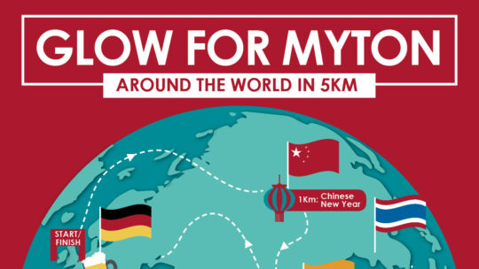 The Myton Hospices - Glow for Myton 2020 Around the World in 5KM - Channel Image