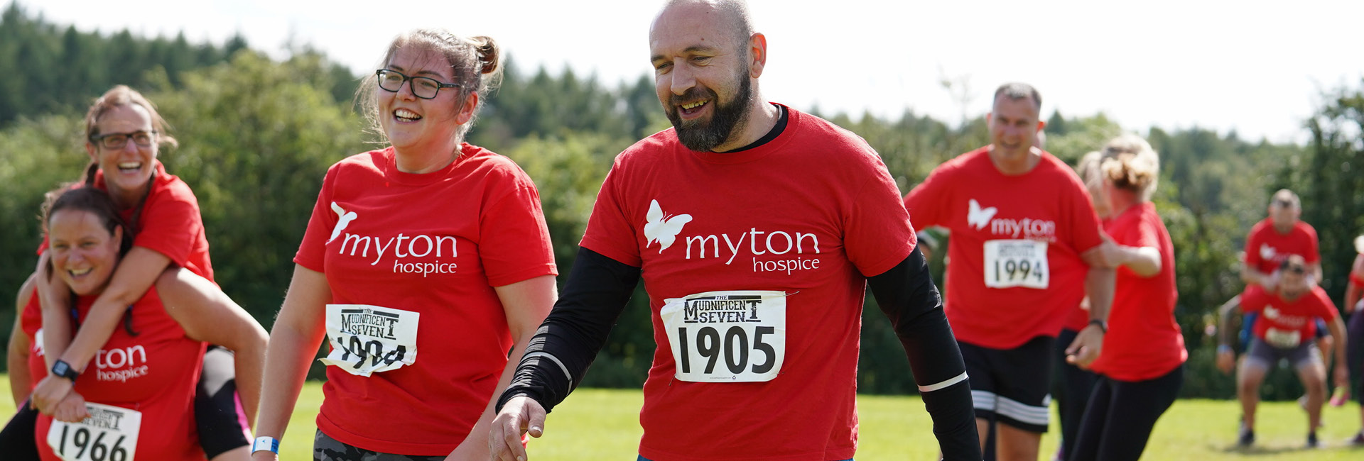 Mud 7 2020 - Challenge Event - The Myton Hospices - Warwickshire - Coventry - Leamington Spa