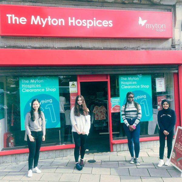 Retail Volunteering Team - The Myton Hospices - Warwickshire - Coventry - Rugby - Leamington Spa