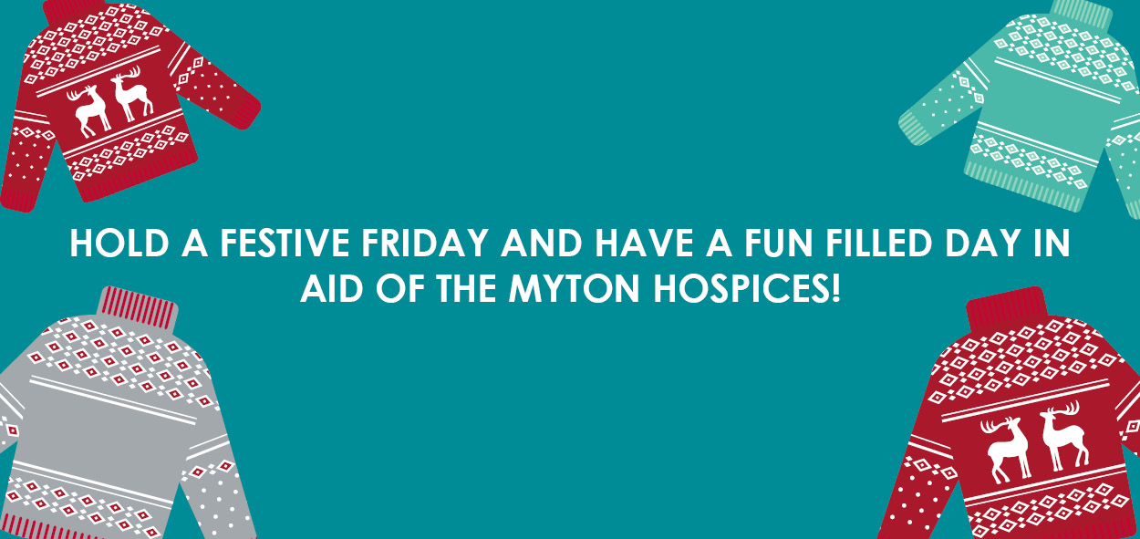 Festive Friday 2019 - The Myton Hospices - Corporate - Warwickshire - Leamington Spa - Rugby - Coventry - Christmas