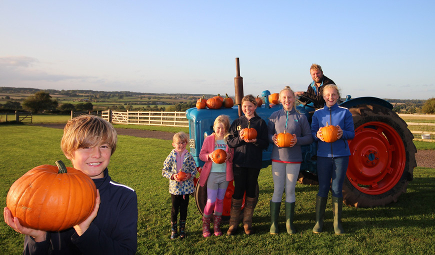 Hilltop Farm - The Myton Hospices - Pumpkins - Coventry - Leamington Spa - Rugby