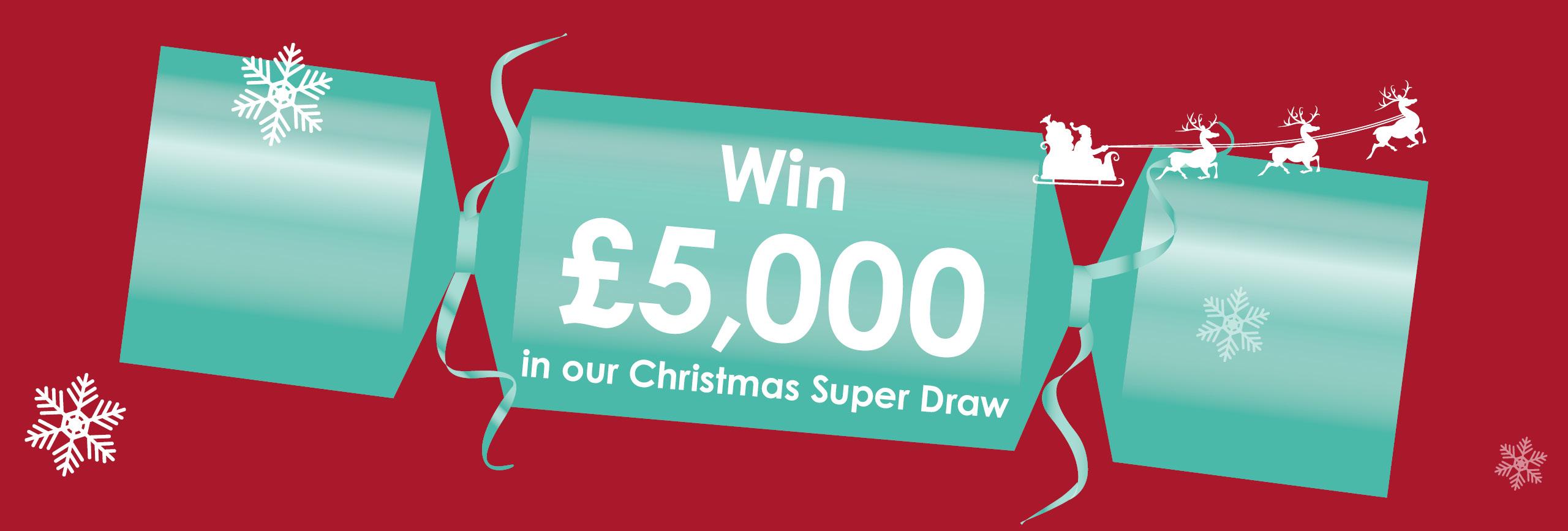 The Myton Hospices - ChristmasSuper Draw 2019 Flex Slider Lottery Raffle Win