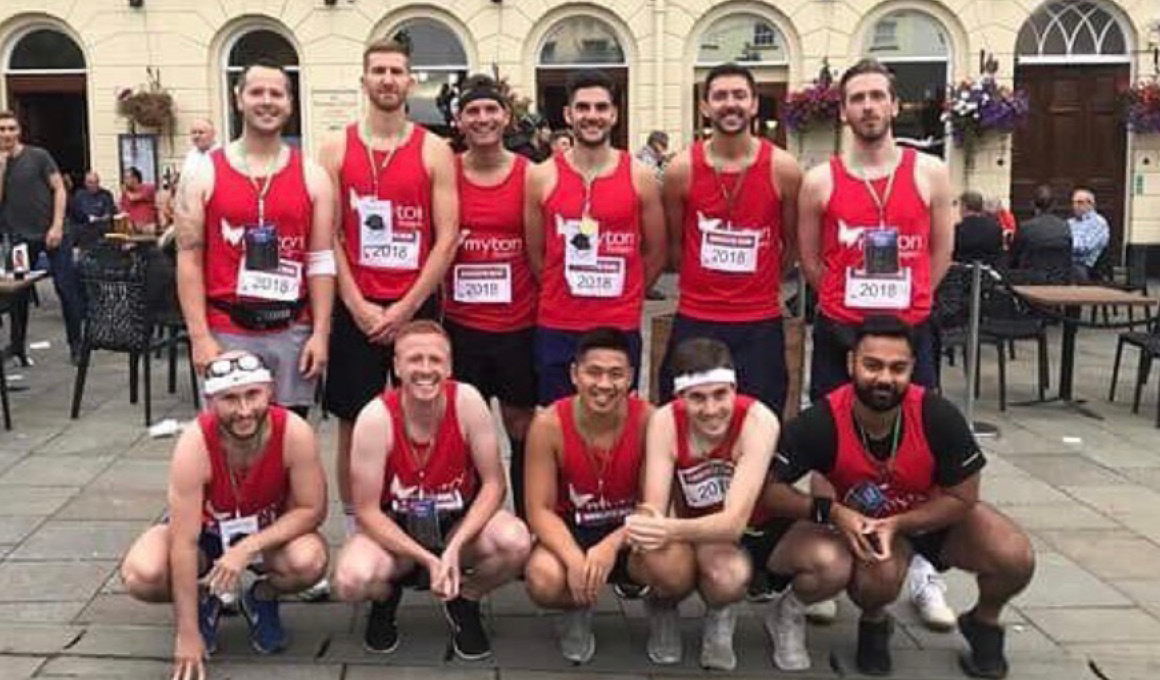 The Myton Hospices - Emscote Run 2019 Blog Heaader