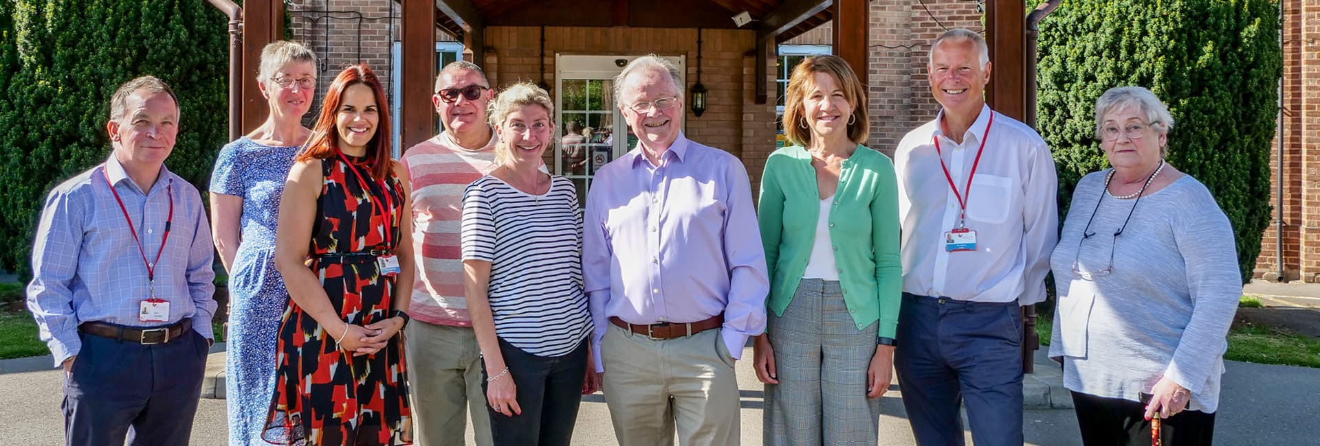 The Myton Hospices - Meet the Team - Trustees - Flex Slider