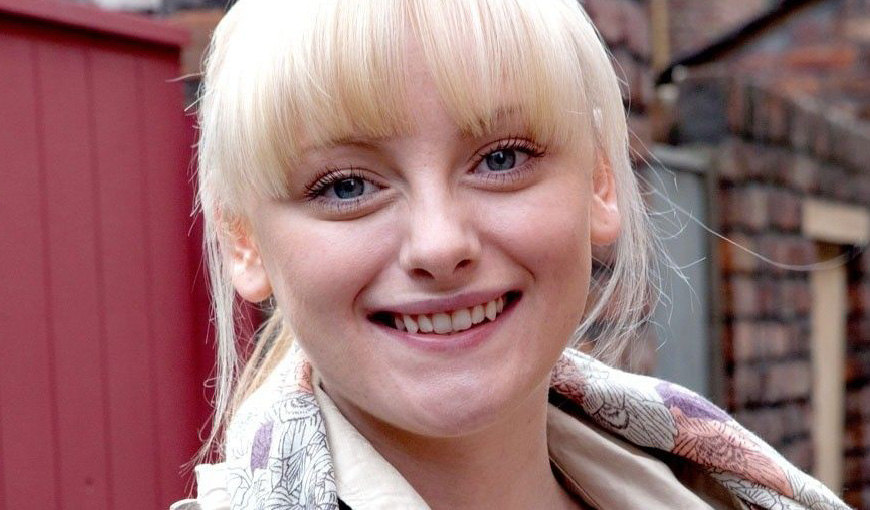 Sinead Tinker - Coronation Street - The Myton Hospices - Warwickshire - Coventry - Leamington Spa - Rugby - Cancer