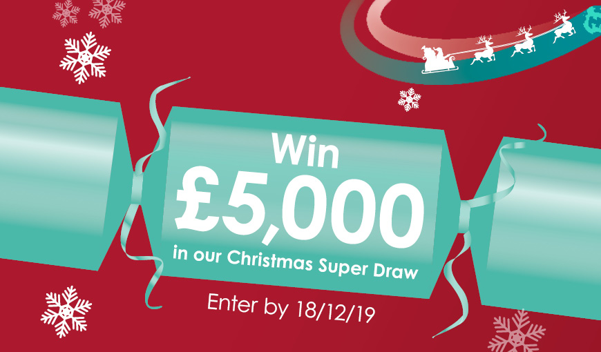 Christmas Super Draw - Lottery - The Myton Hospices - Warwickshire - Leamington Spa - Coventry - Rugby