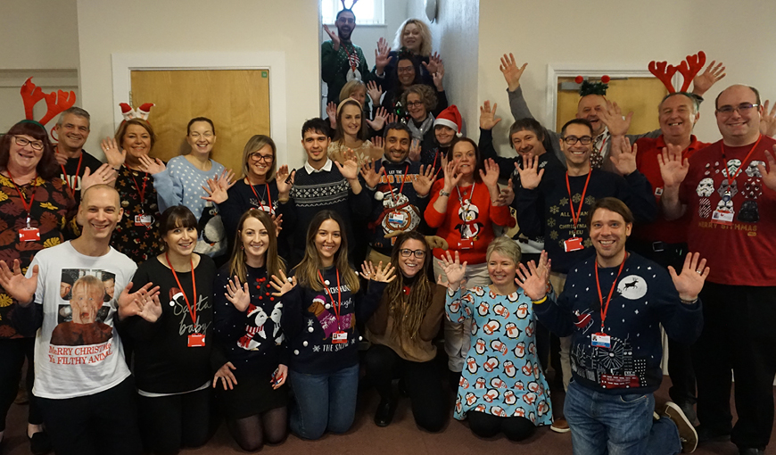 Festive Friday 2019 - The Myton Hospices - Warwickshire - Rugby - Coventry - Leamington Spa - Christmas - Festive