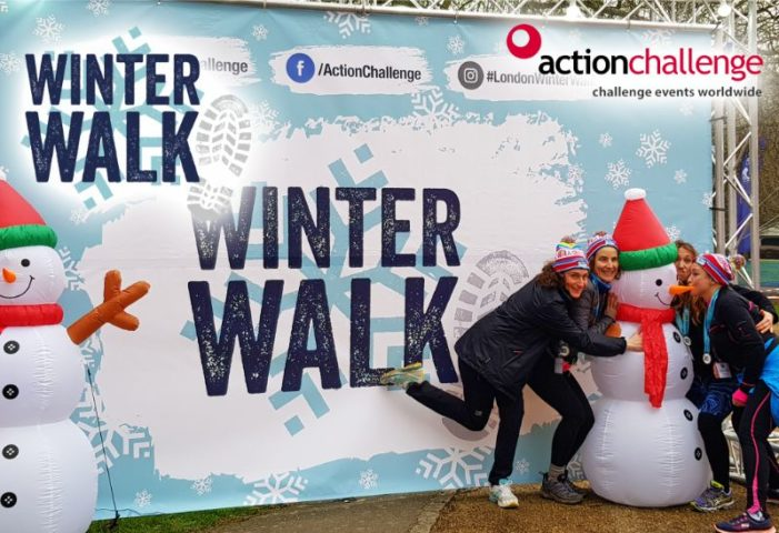 London Winter Walk Ultra Challenge - The Myton Hospices - Warwickshire - Rugby - Coventry - Leamington Spa