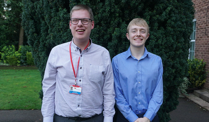 National Apprenticeship Week 2020 - Thomas Roe - James Chalker - The Myton Hospices - Warwickshire - Rugby - Coventry - Leamington Spa