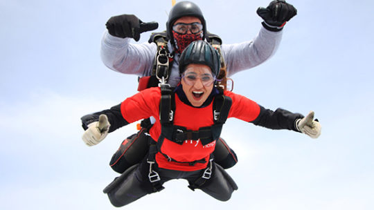 The Myton Hospices - Skydive 2020 - Warwickshire - Coventry - Rugby - Leamington Spa