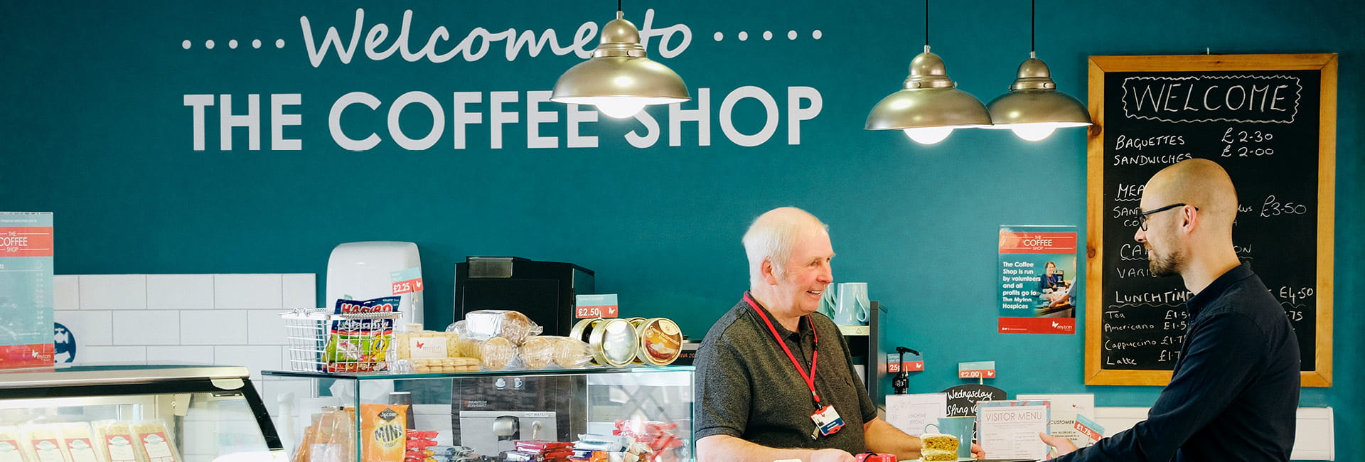 The Myton Hospices - Warwickshire - Coventry - Leamington Spa - Rugby - Volunteering - Volunteer - Coffee Shop