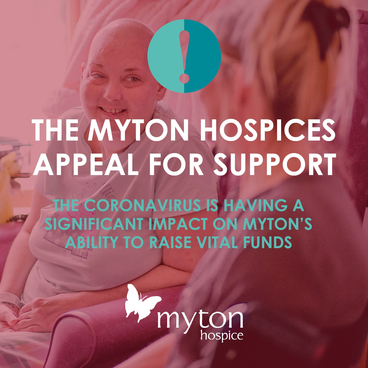 The Myton Hospices - Appeal for Support - Social Media