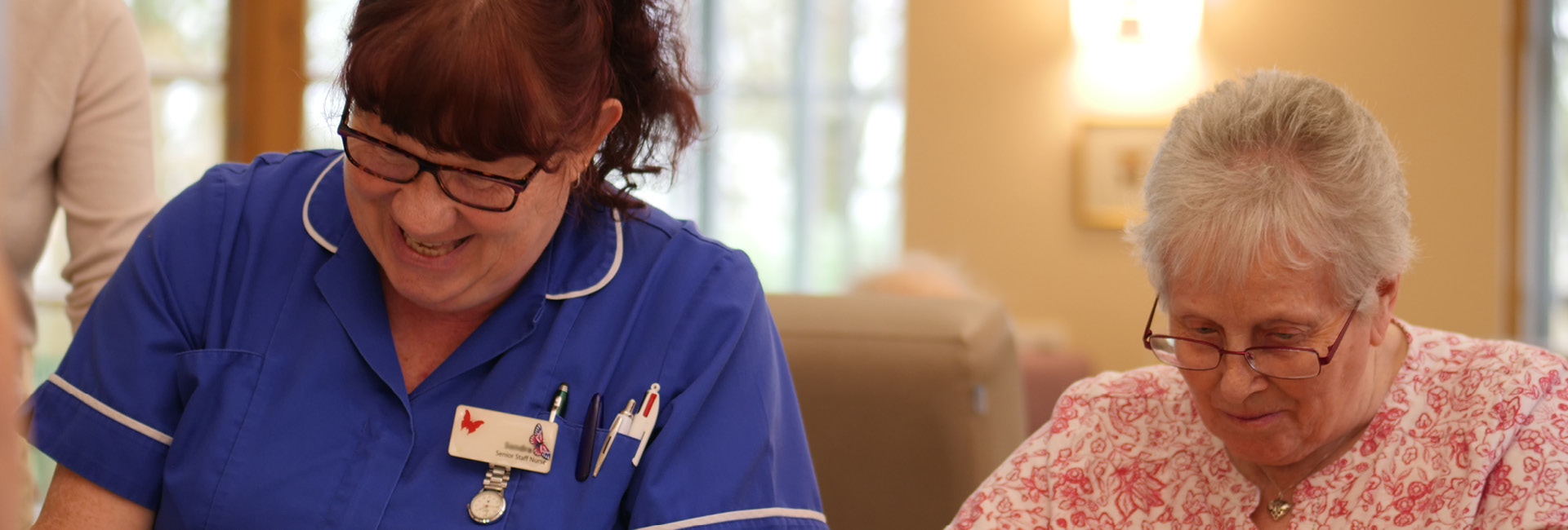 The Myton Hospices - Coventry - Leamington Spa - Rugby - Southam - Areas We Cover - Hospice Care - Patient - Coming to Myton