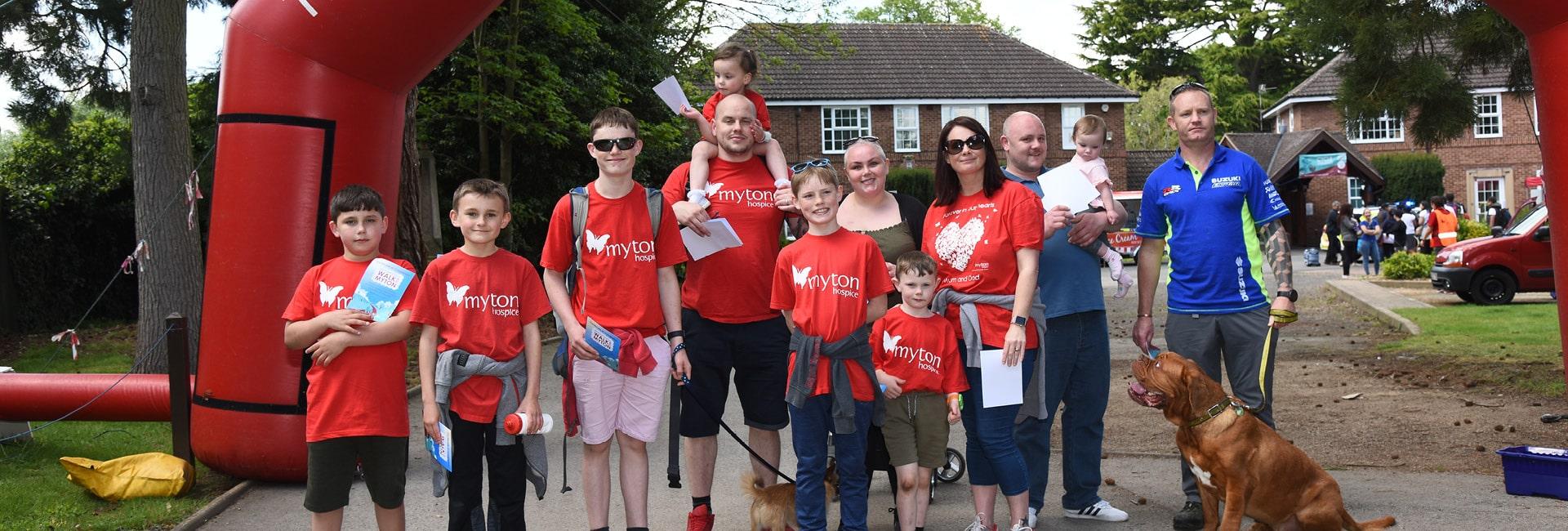 The Myton Hospices - Walk for Myton 2020 - Flex Slider