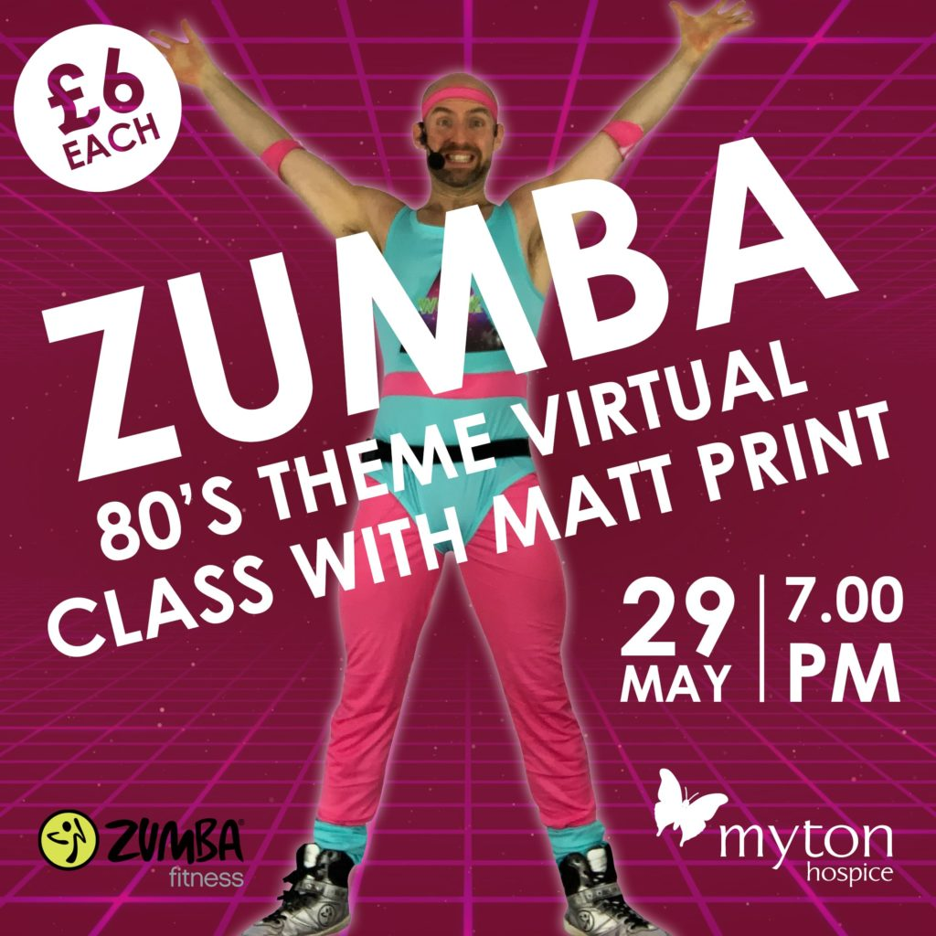 The Myton Hospices - Zumba Social Media Square - 80