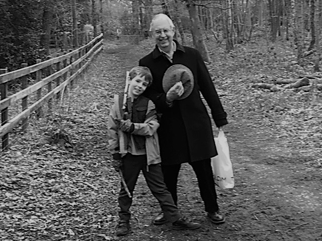 Luke and Grandpa Myton Mountain