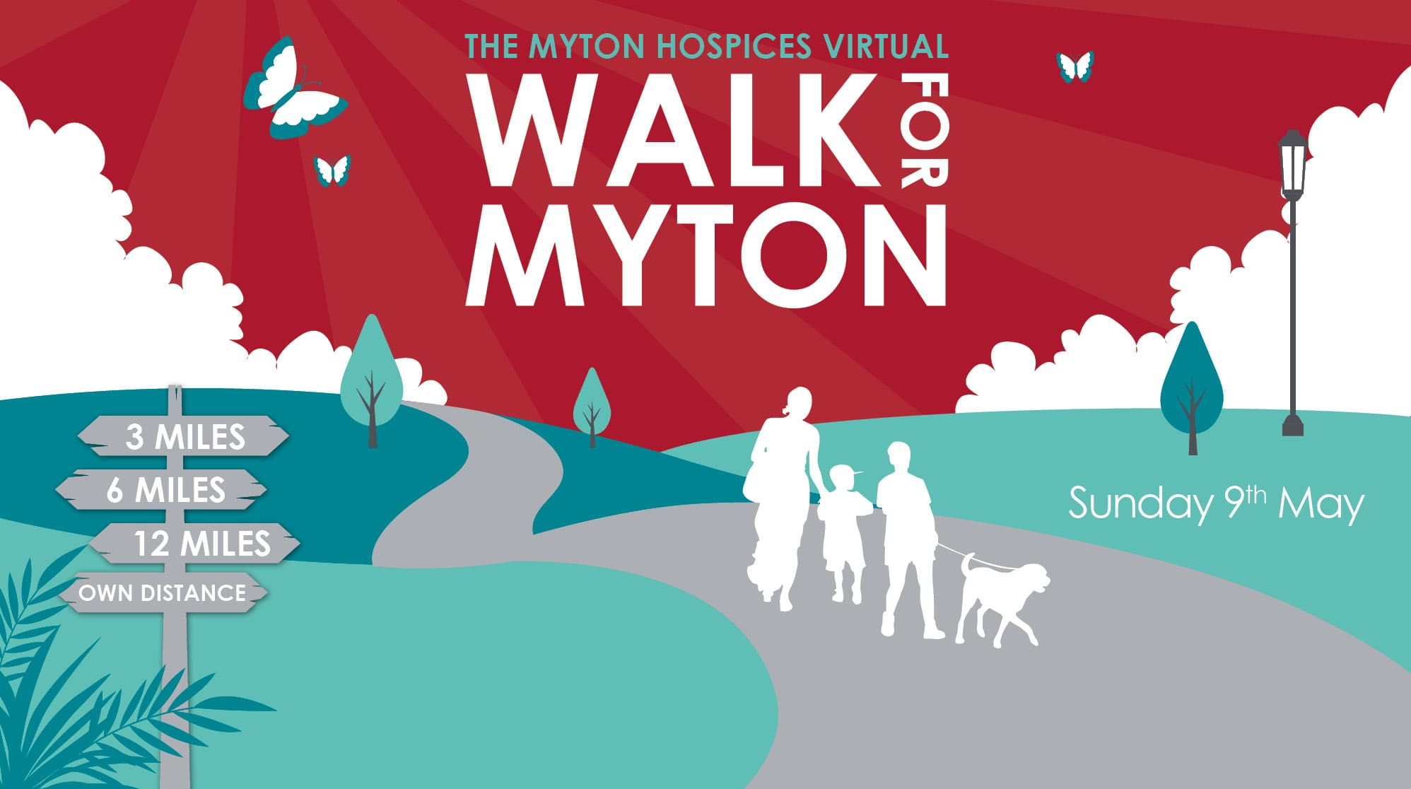 The Myton Hospices - VIrtual Walk for Myton 2021 - Mid Page Banner