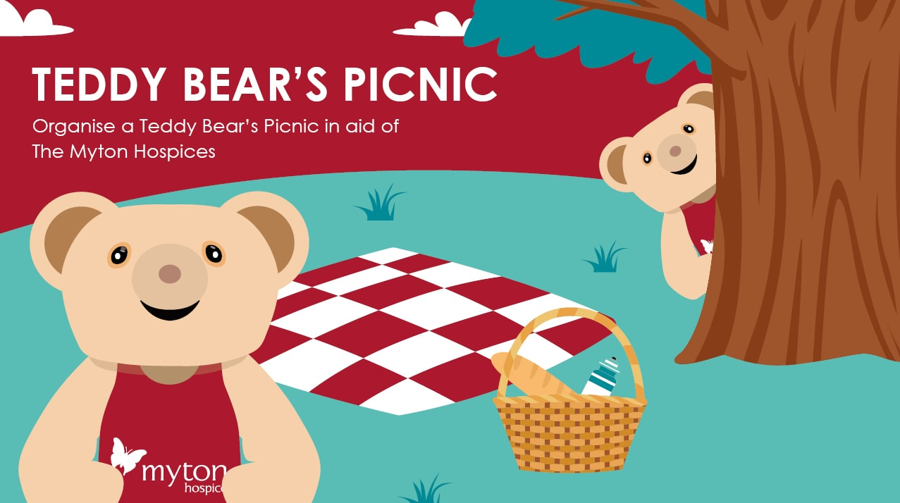 The Myton Hospices - Teddy Bear's Picnic - Mid Page Banner