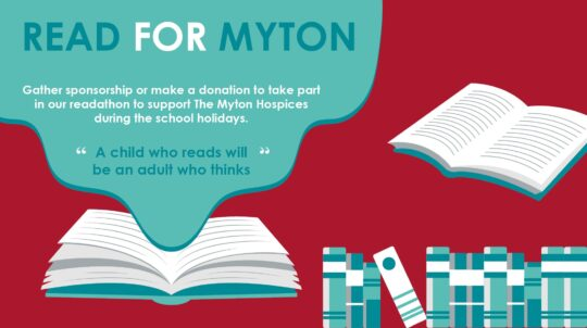 The Myton Hospices - Read for Myton 2021 - Midpage Banner