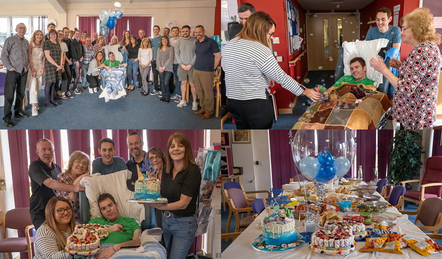 The Myton Hospices - People's Stories - James McHugh - Patient - Birthday - Warwickshire - Leamington Spa - Rugby - Coventry - Warwick