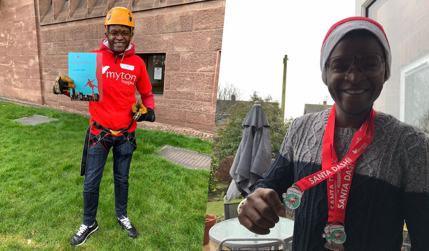 The Myton Hospices - Marlon Chirere - Myton Hospice - Volunteer - Volunteering - Warwickshire - Warwick - Coventry - Leamington Spa - Rugby - Events