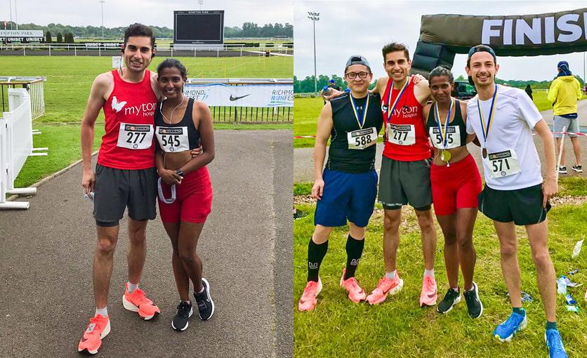 The Myton Hospices - Myton Hospice - Hussain Al-Zubaidi - Warwickshire - Warwick - Rugby - Coventry - Leamington Spa - Marathon - Running - Fundraising - Iron Man Event