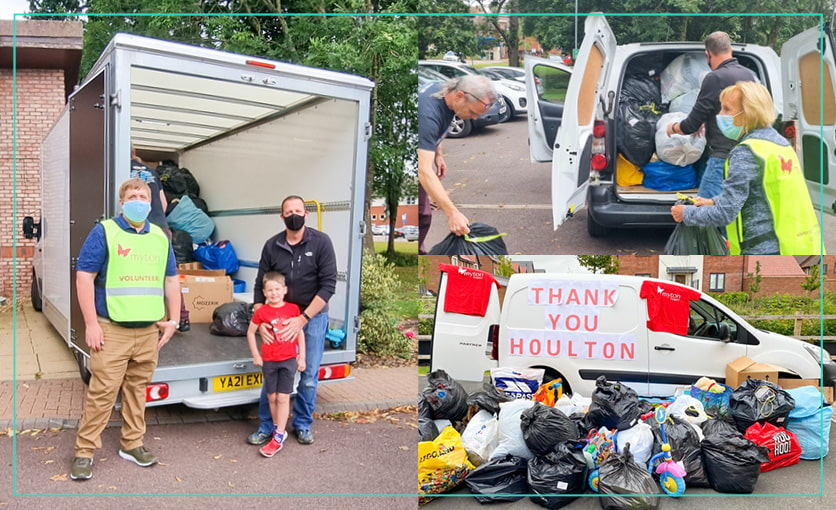 The Myton Hospices - Jason Huddlestone - Donation Station Drive Thru - Donations - Support - Warwickshire - Warwick - Coventry - Leamington Spa - Rugby