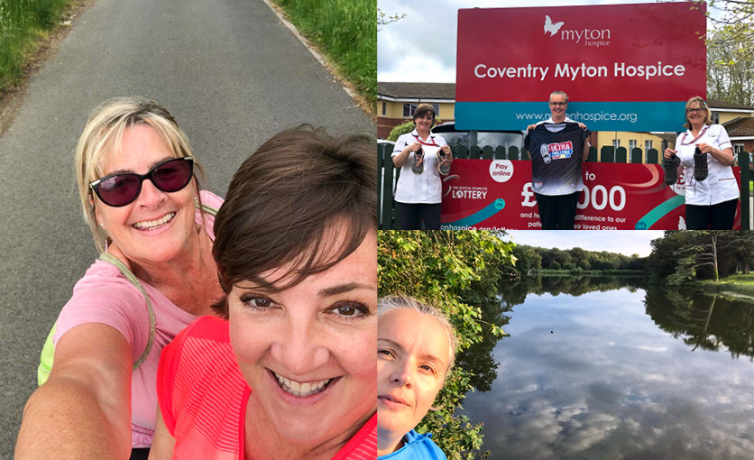 The Myton Hospices - Myton Hospice - Myton Magic Team - Fundraising - Warwickshire - Coventry - Leamington Spa - Rugby - South Coast Ultra Challenge