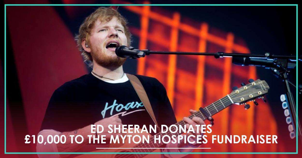 The Myton Hospices - Ed Sheeran - Nizlopi - FB Lnk Card