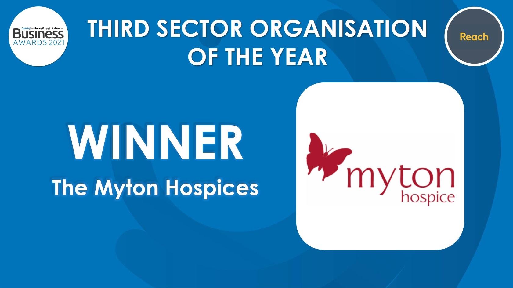 The Myton Hospices - Awards Winner