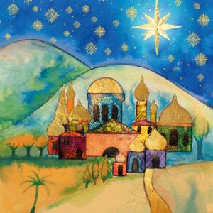 Bethlehem Hillside - Christmas Cards - The Myton Hospices