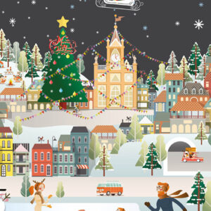 Christmas Rink - Christmas Cards - The Myton Hospices