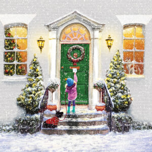 Green Door - Christmas Cards - The Myton Hospices