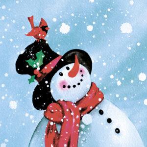 Happy Snowman - Christmas Cards - The Myton Hospices