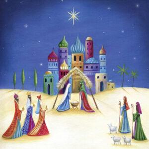 Nativity - Christmas Cards - The Myton Hospices