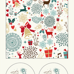 Reindeer - Wrapping Paper - The Myton Hospices