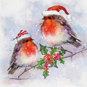 Robins Party - Christmas Cards - The Myton Hospices