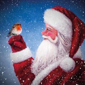 Santas Little Friend - Christmas Cards - The Myton Hospices