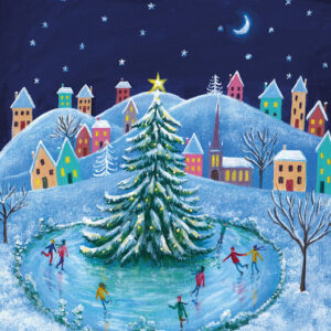 Skating Time - Christmas Cards - The Myton Hospices