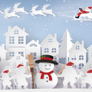 Snowman Town - Money Wallet - The Myton Hospices