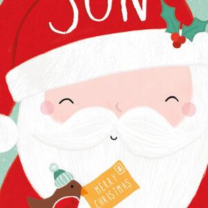 Son - Christmas Cards - The Myton Hospices