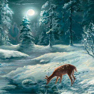 Winter Scene - Money Wallet - The Myton Hospices (300dpi)