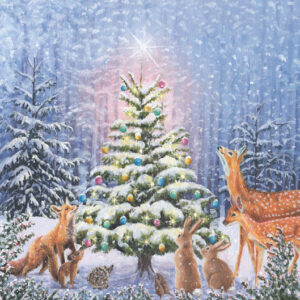 Woodland Friends - Christmas Cards - The Myton Hospices